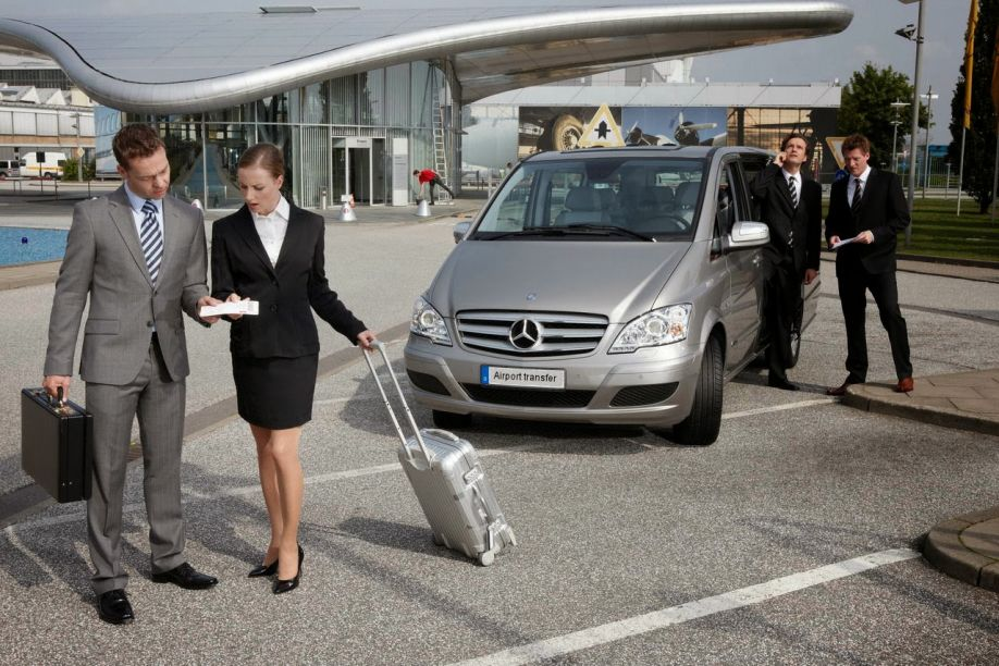 Transportation of executives and conference transportation